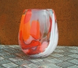 Becher rot orange